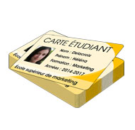 cartes étudiants